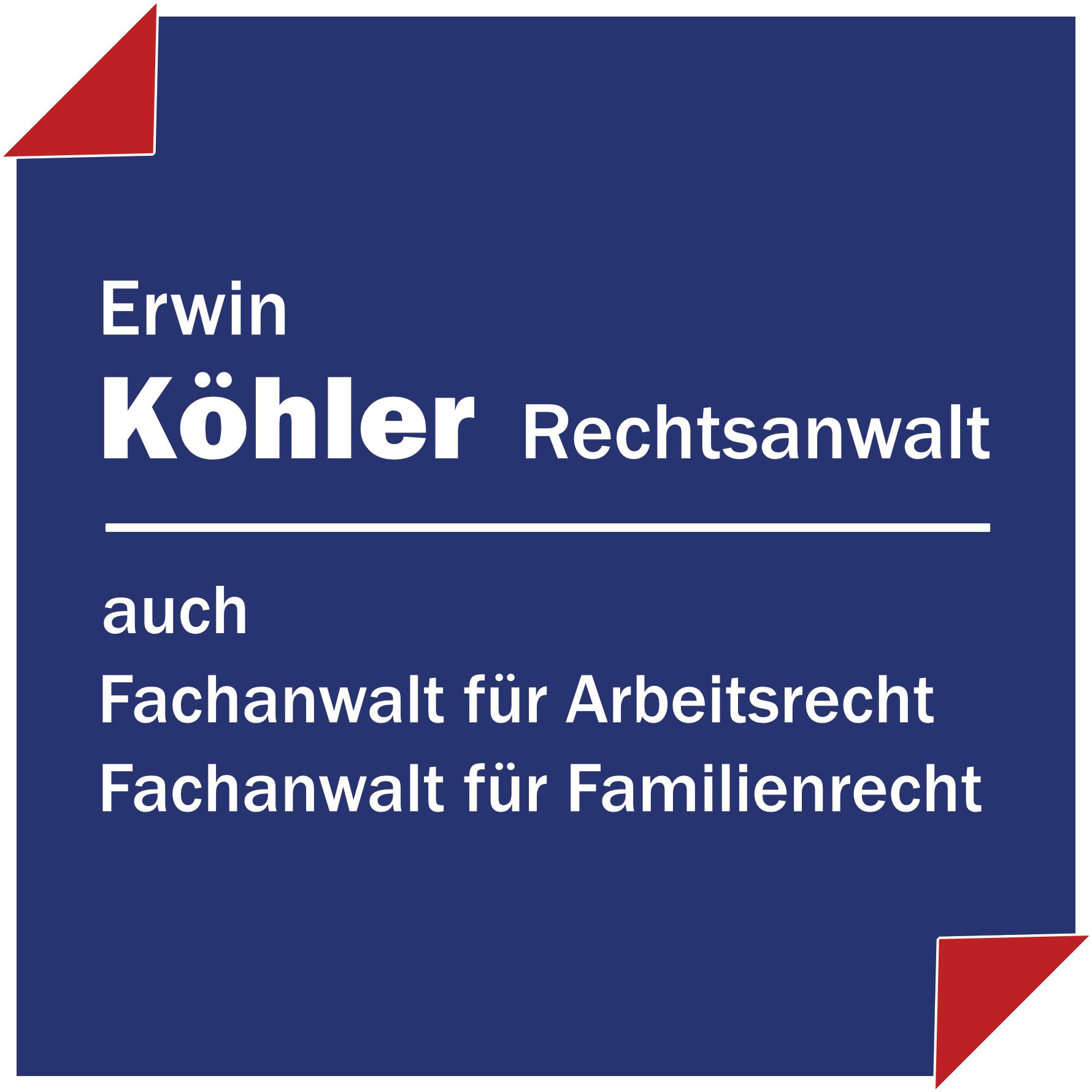 Rechtsanwalt & Fachanwalt Erwin Köhler in Meppen