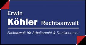 Logo_Rechtsanwalt_Erwin_Koehler_Quer